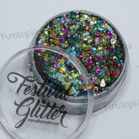 Art Factory Festival Glitter Gel 50ml Jar- Unicorn Pop