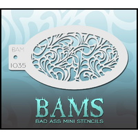 BAM Bad Ass Mini Stencil - 1035