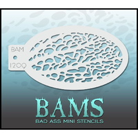 BAM Bad Ass Mini Stencil - 1209