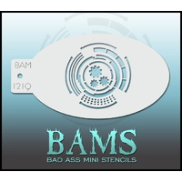 BAM Bad Ass Mini Stencil - 1219