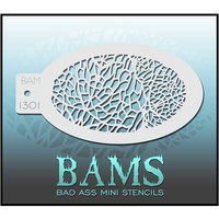 BAM Bad Ass Mini Stencil - 1301