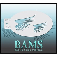 BAM Bad Ass Mini Stencil - 1401