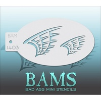 BAM Bad Ass Mini Stencil - 1403