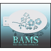 BAM Bad Ass Mini Stencil - 1414