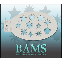 BAM Bad Ass Mini Stencil - 3010