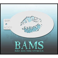 BAM Bad Ass Mini Stencil - 4002