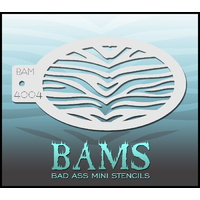 BAM Bad Ass Mini Stencil - 4004