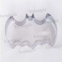 Batman Stainless Steel Cookie Cutter.Perfect for all cooking applications