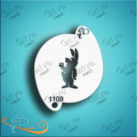 Diva Stencil 1100 - Wonderland Rabbit profile