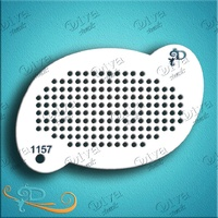 Diva Stencil 1157 - Pop Art Dots