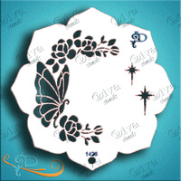 Diva Stencil 1426 Eye Candy - Butterfly
