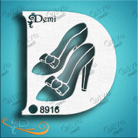 Diva Demi Stencil 247 - Demi Princess Shoes