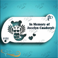 Diva Stencil - In memory of Jocelyn Casdorph