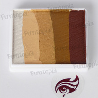 Face Paints Australia 50g Latte Combo