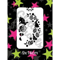 Glitter & Ghouls Easter Side Spray Stencil - GG130