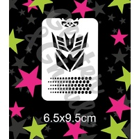 Glitter & Ghouls Bad Bots Stencil GG23