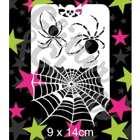 Glitter & Ghouls Spiders & Web Edge GG30