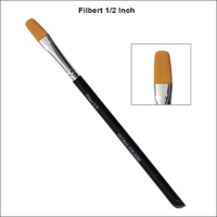 "Global Colours Filbert Brush - 1/2"" with acrylic handle"