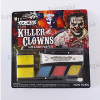 Global Colours Killer Clown Make Up Kit