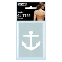Global Glitter Tattoo Stencil - GS37