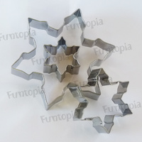 Snowflake stainless Steel Cookie Cutter.