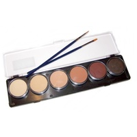 TAG Body Art Skin Tone 6 Colour Palette