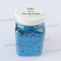 TAG Body Art Chunky Glitter Blue - 200g