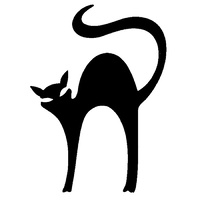 TAG Stretched Cat Stencil No. 1 - 5 pack