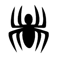 TAG Little Spider Stencil No. 45 - 5 pack