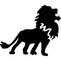 TAG Lion Stencil No. 5 - 5 pack