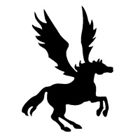 TAG Pegasus Stencil No. 6 - 5 pack