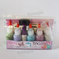 TAG Glitter Tattoo Kit - Girls