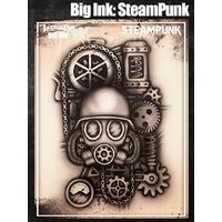 Wiser Tattoo Pro Big Ink Stencil - Steam Punk